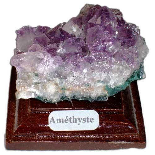 Roches et minéraux - L'Améthyste