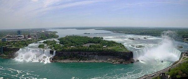 Chutes d'eau - Les chutes du Niagara -