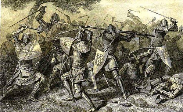 Guerre de cent ans - Batailles - Combat des Trente -