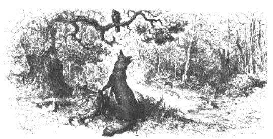Fables de La Fontaine - -Livre I -Le Corbeau et le Renard -