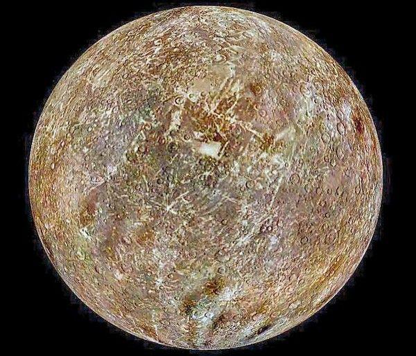 Astronomie - Les Planètes - Mercure -