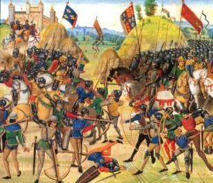 Guerre de cent ans - Batailles - Azincourt -