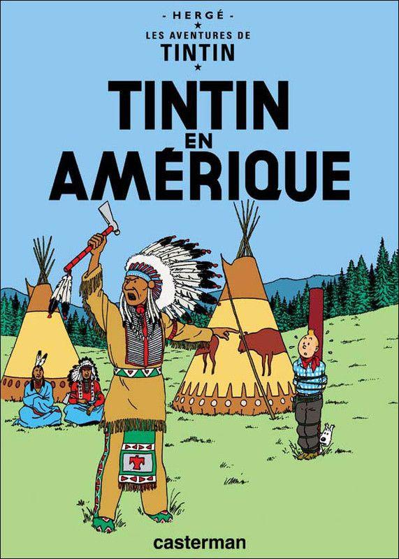 Histoire de la BD -Tintin en Amérique -