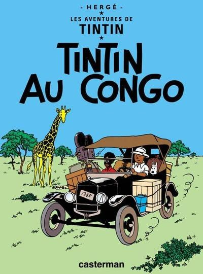 Histoire de la BD -Tintin au Congo-