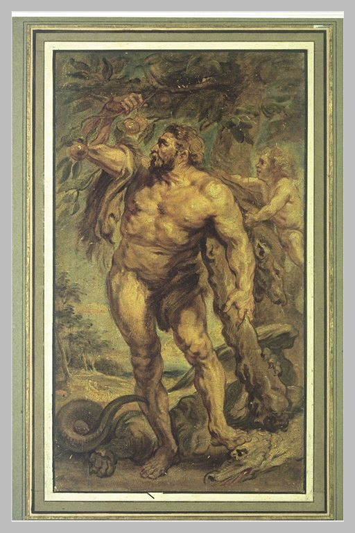 Mythologie Greco-romaine-Hercule-Travaux-11-Le Jardin...