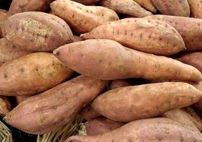 Les légumes - La patate douce -