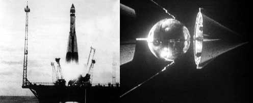 Années 50 - Les années Spoutnik