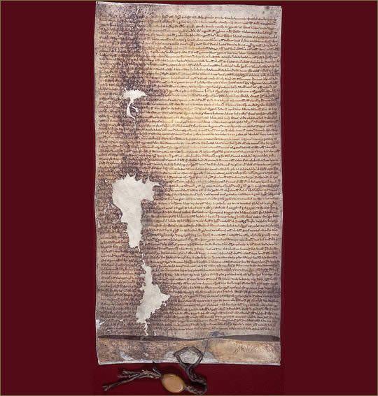 Un jour... une histoire... 15 juin 1215
