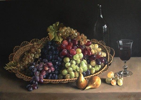 Les fruits - Le raisin -