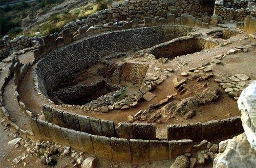 Histoire - Antiquité-grecs,romains-Civilisation Mycénienne