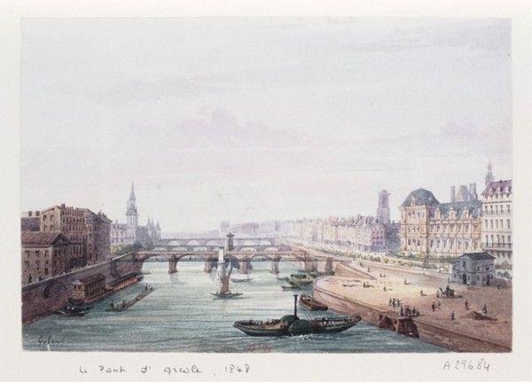 Paris autrefois-Vie quotidienne-La Seine à Paris -
