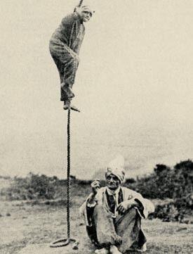 Insolite - La Corde Magique du Fakir -