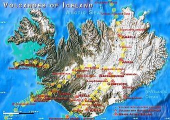 Les volcans - Volcans d'Islande -