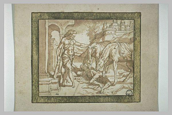 Mythologie Greco-romaine-Hercule-Travaux-8-Les juments de...