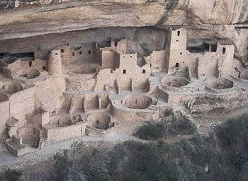 Archéologie - Mesa Verde . Chaco Canyon