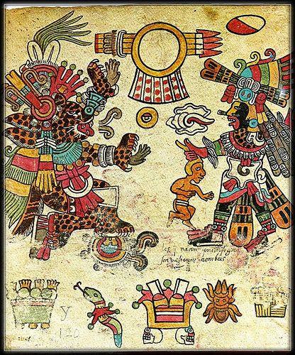 Mythologie amérindienne - Aigle et jaguar -