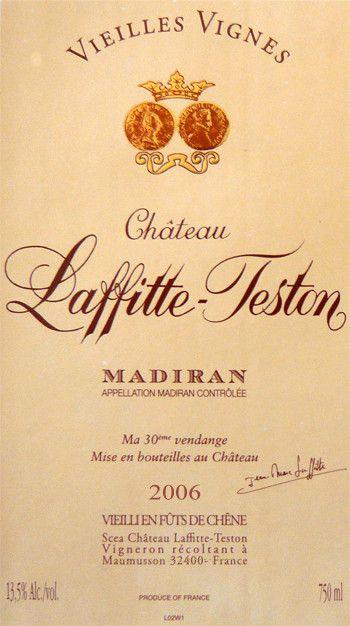 La vigne et le vin - Les vins de Madiran -