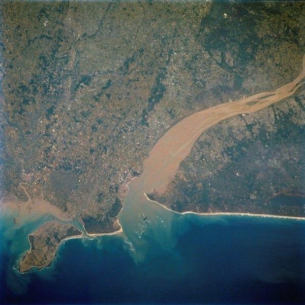 Deltas et estuaires - Estuaire de la Gironde -