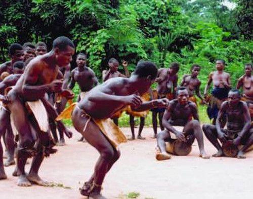 Patrimoine culturel immatériel de l'humanité -Pygmées Aka-