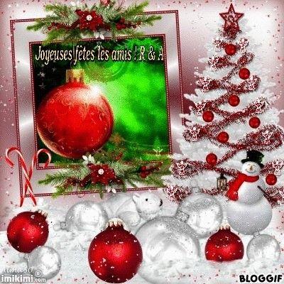 Joyeux Noël chez  Robert et Angel...