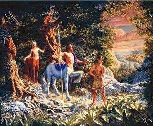 Religion - Créatures mythiques - Centaure -
