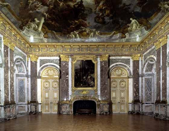 Chateau de versailles le salon d 39 hercule for Salon de versailles