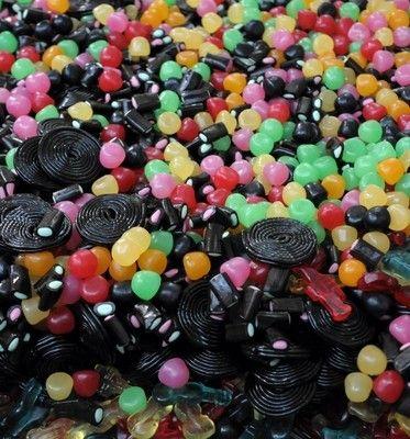 Bonbons et gourmandises - les réglisses -