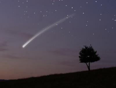 Astronomie - Etoile filante et météorite -