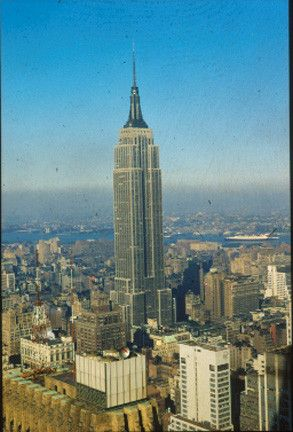 Monuments - l'Empire State Building -