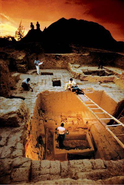 Civilisations anciennes - Sipán . Les Moches ou Mochicas