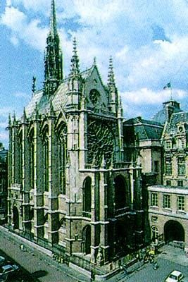Tourisme et histoire - Paris - La Sainte Chapelle -