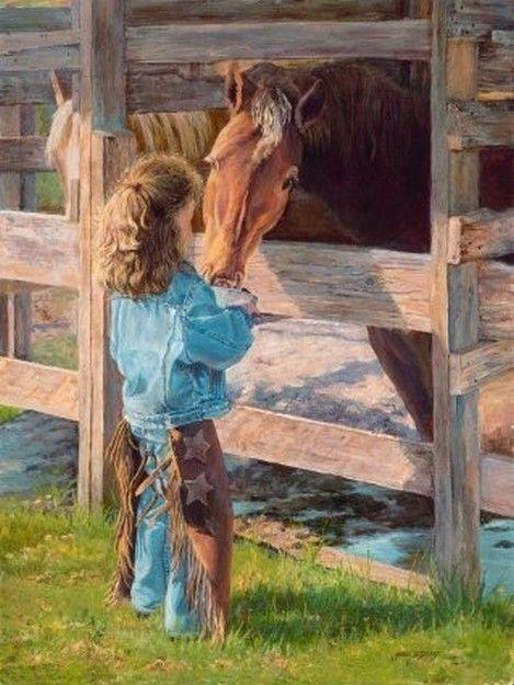 Joli tableau de June Dudley... pris chez Mumu..