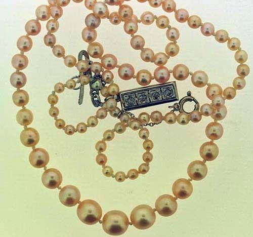 Les gemmes et metaux précieux - Les perles fines -