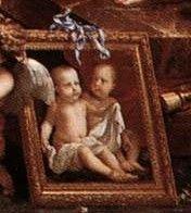 Enfants royaux - Anne-Elisabeth et Marie-Anne de France