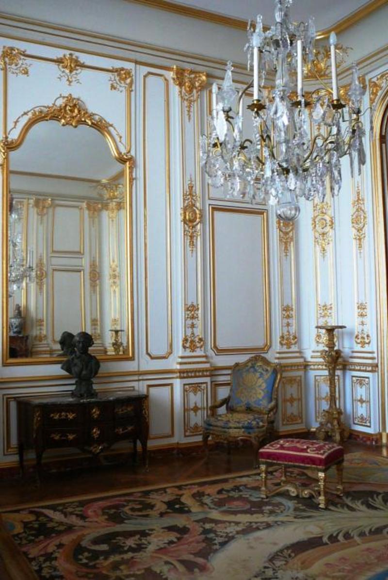 Chateaux de la loire le chateau de chambord for Chambre de parade