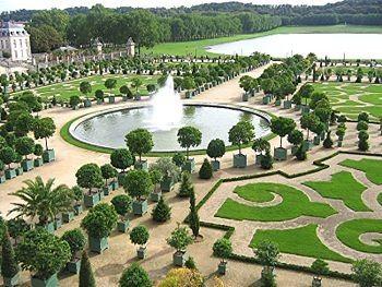 Le(s) jardin(s) - Le jardin à la Française -