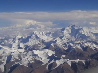 Montagnes et failles - L'himalaya - 2 -