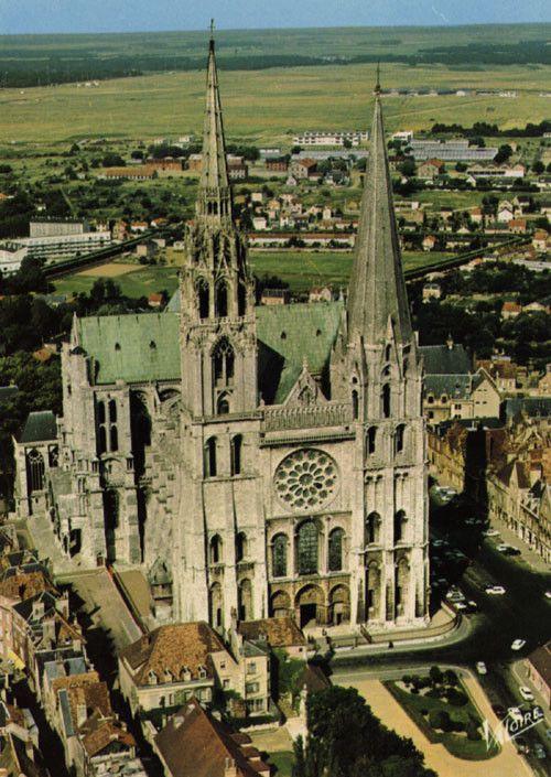 Monuments - La cathédrale de Chartres  -