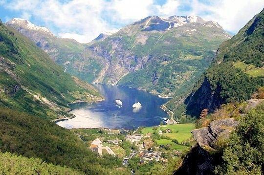 Curiosités - Les fjords -