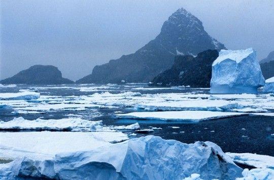Continents - l'Antarctique -