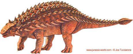 Les dinosaures - L'Ankylosaure (Ankylosaurus)