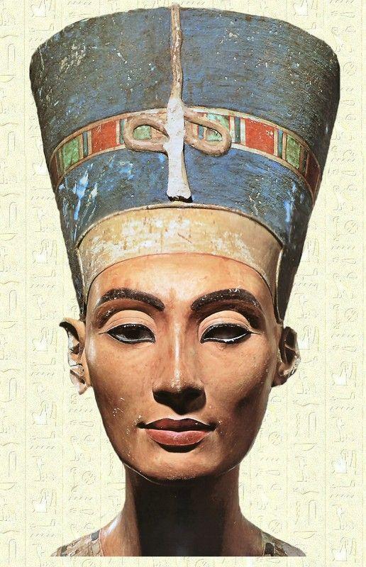 Egypte - Les pharaons - Néfertiti -