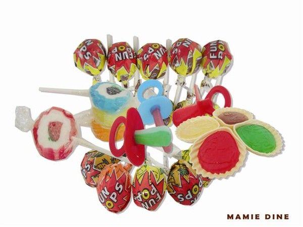 Bonbons et gourmandises - La sucette -