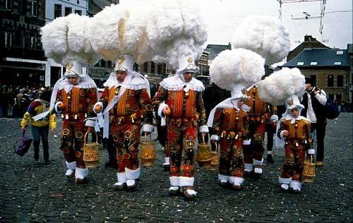 Patrimoine culturel immatériel de l'humanité-Carnaval Binche