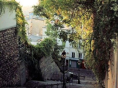 Tourisme et Histoire - Paris - Balade à Montmartre