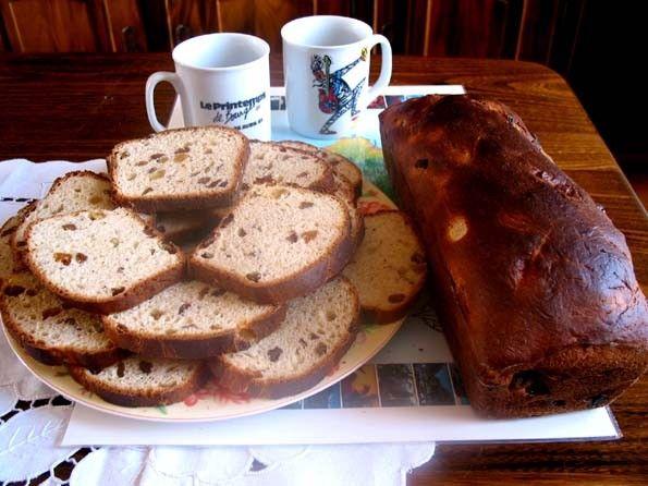 histoire du pain - pains belges- le cramique -
