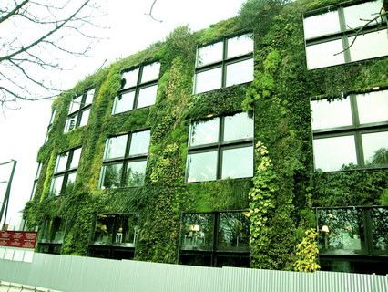 Le(s) Jardin(s)- Le Mur végétal -