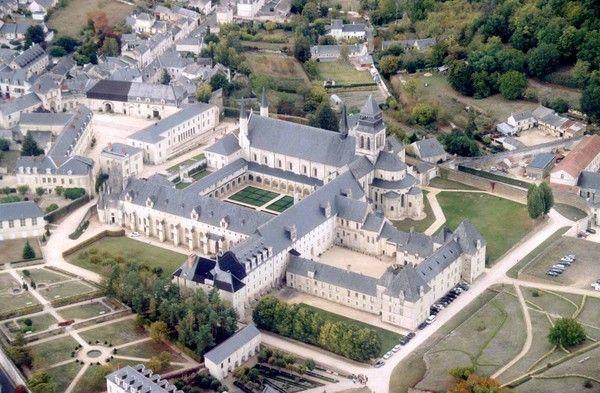 Monuments - L'Abbaye de Fontevraud -