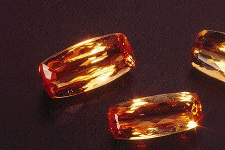 Les gemmes et métaux précieux - La topaze