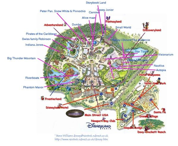 Parcs d'attractions - Disneyland Paris - 1 -
